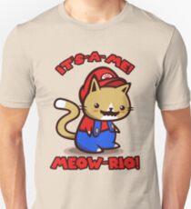 It's-a-me! Meow-rio! (Text ver.) T-Shirt