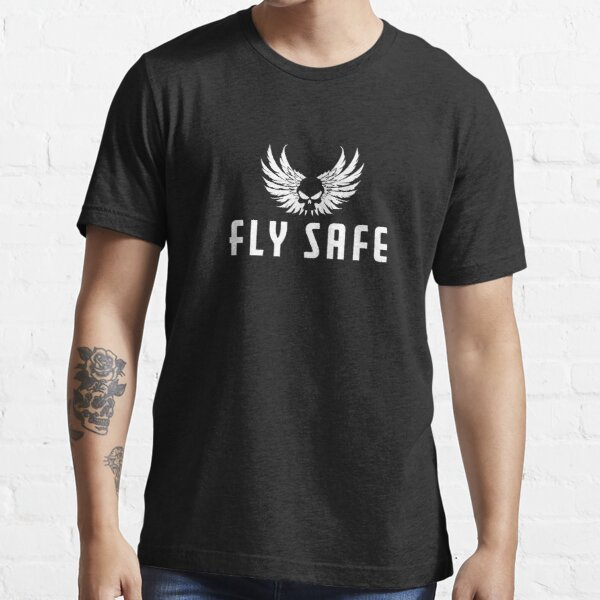 Fly Safe White Essential T-Shirt