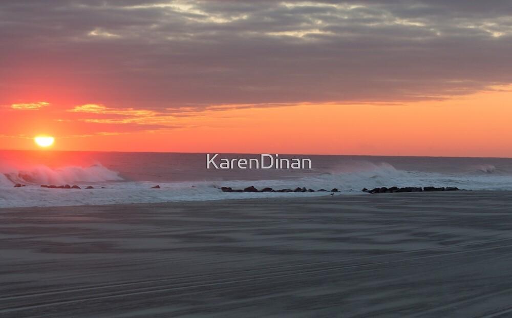 Brisk Sunset  by KarenDinan