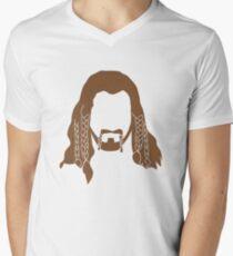 Fili's Beard Men's V-Neck T-Shirt