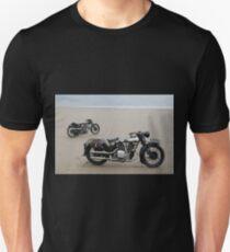 Brough Superior at Pendine Sands T-Shirt