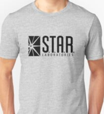 STAR LABS - LABORATORIES - Black T-Shirt
