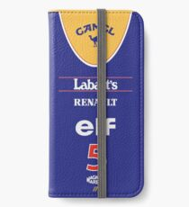Williams FW14b Nigel Mansell 1992 Livery iPhone Wallet