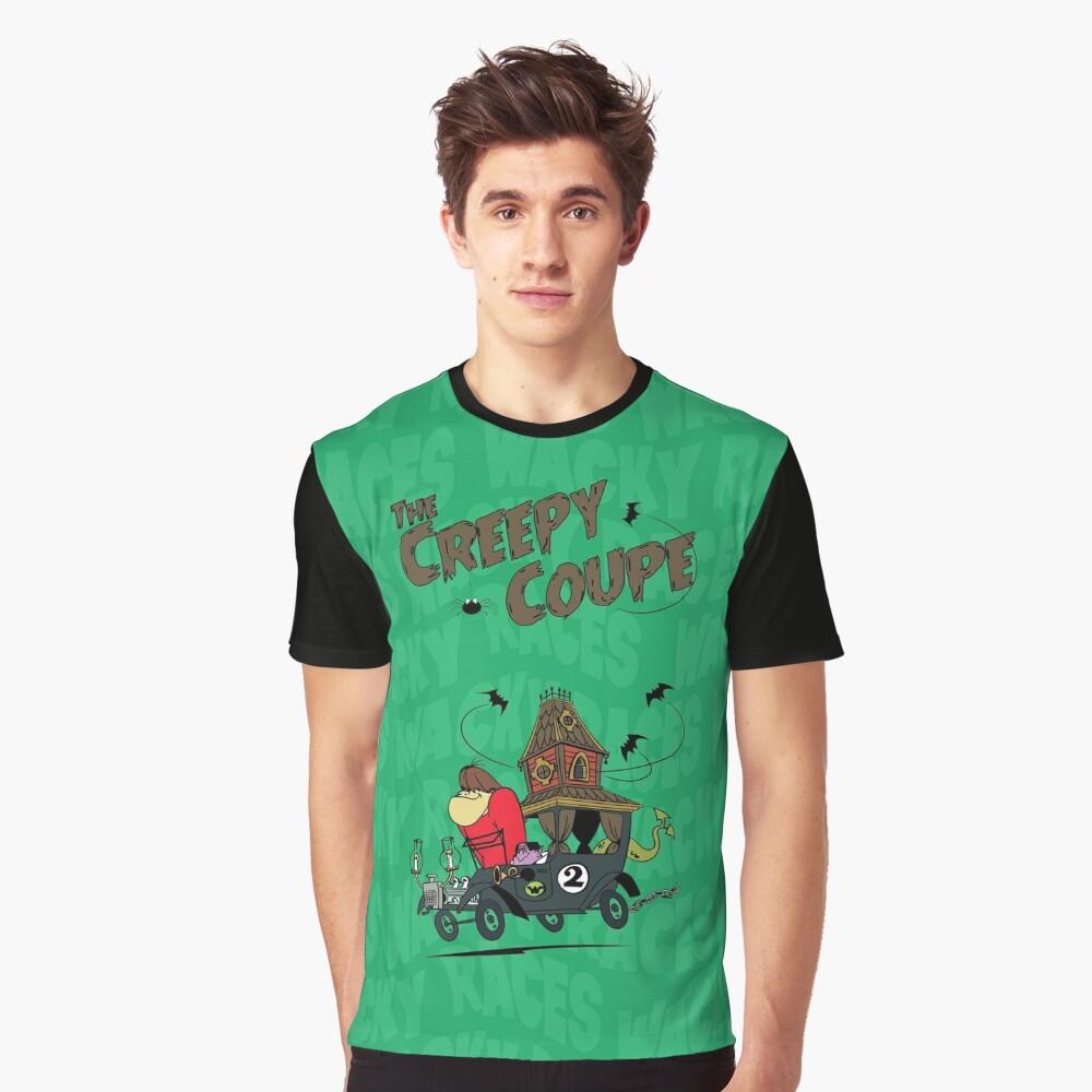 The Creepy Coupe Raglan Sleeve Men's T-shirt