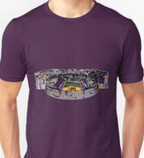 Louisiana State University Stadium Marker Sketch Unisex T-Shirt
