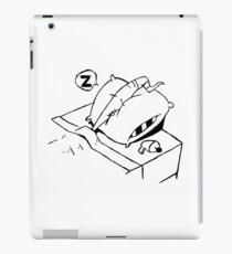 Earthworm Jim Takes a Nap iPad Case/Skin