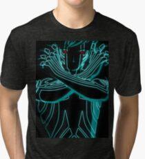 Shin Megami Tensei DemiFiend Tri-blend T-Shirt