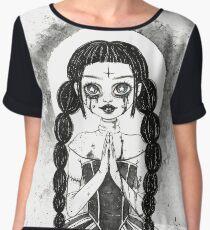 Satan's Nun Chiffon Top