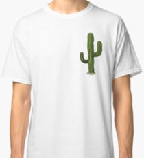 Einsamer Kaktus Classic T-Shirt