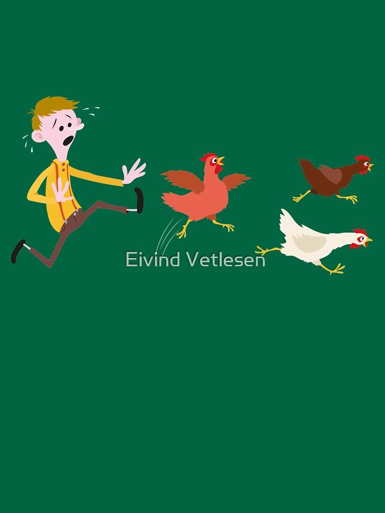 Chicken Run by eivindvetlesen
