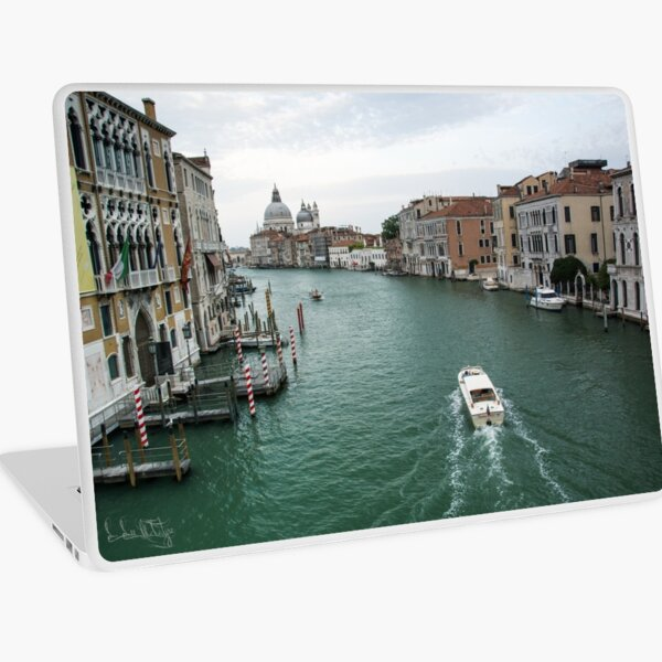 Scene on the Grand Canal, Venice Laptop Skin