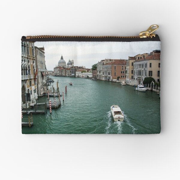 Scene on the Grand Canal, Venice Zipper Pouch