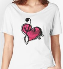 Music Lover Women's Relaxed Fit T-Shirt