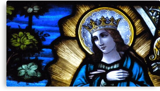 Mother Mary. by Lee d'Entremont