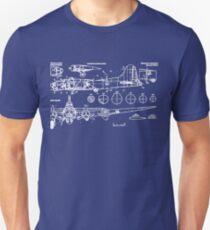 B-17 Concept Blueprint T-Shirt