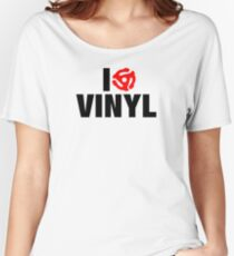 I Spin Vinyl Women's Relaxed Fit T-Shirt