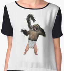 Puppy Monkey Baby Women's Chiffon Top