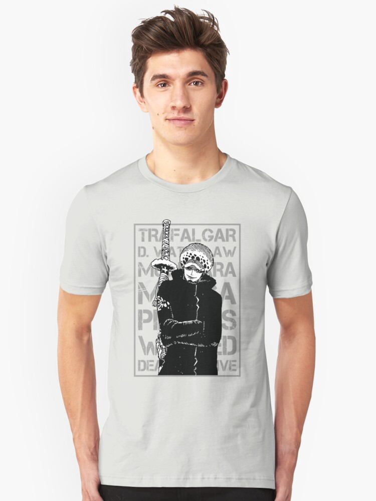 THIS IS MANGA - D LAW 5 Unisex T-Shirt Front