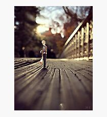 stood up - central park Photographic Print