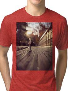 stood up - central park Tri-blend T-Shirt