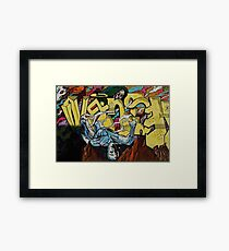 Graffiti Boys Framed Print