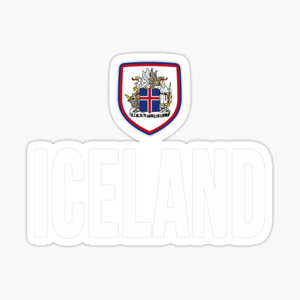 ICELAND International Football Logo Crest Enamel Pin Badge Butterfly Fitting