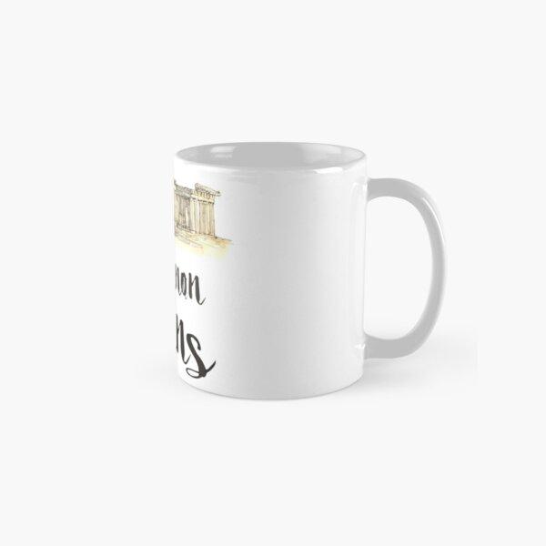 Parthenon watercolor Classic Mug