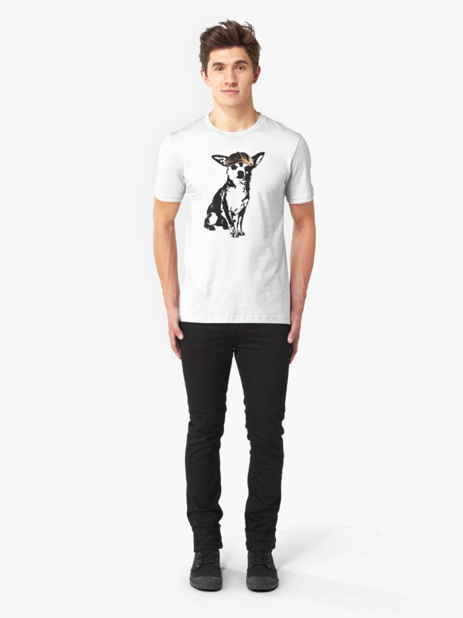 Alternate view of Lil' Tough Guy Slim Fit T-Shirt
