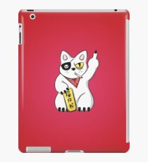 F#cky cat iPad Case/Skin