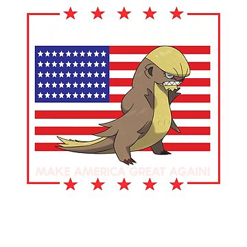 TRUMP - Make America Great Again! Pokémon Parody by shuu-sama