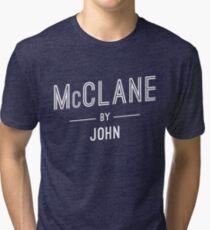 McClane by John Tri-blend T-Shirt
