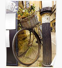 Old Timey Bike Oxford Poster