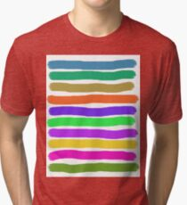 Brush Strokes #2 Veronica Tri-blend T-Shirt