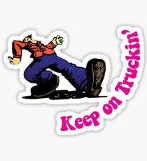 Keep on Truckin' Sticker