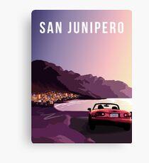 San Junipero Canvas Print
