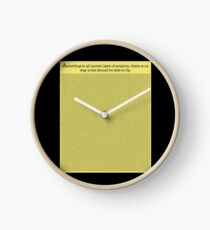 The Entire Bee Movie Script  Clock