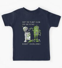 Robot Earth Kids Tee