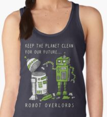 Robot Earth Women's Tank Top