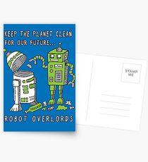 Robot Earth Postcards