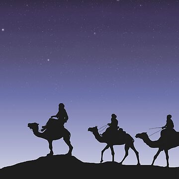 Holy Three Kings - On a winter's night by TriciaDanby