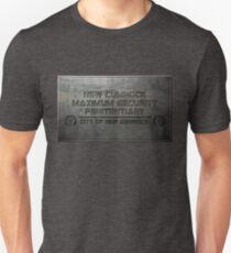 New Cumnock Penitentiary Plaque T-Shirt