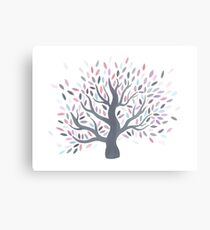 Multicolored tree of spring Metal Print