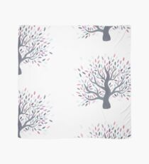 Multicolored tree of spring Scarf