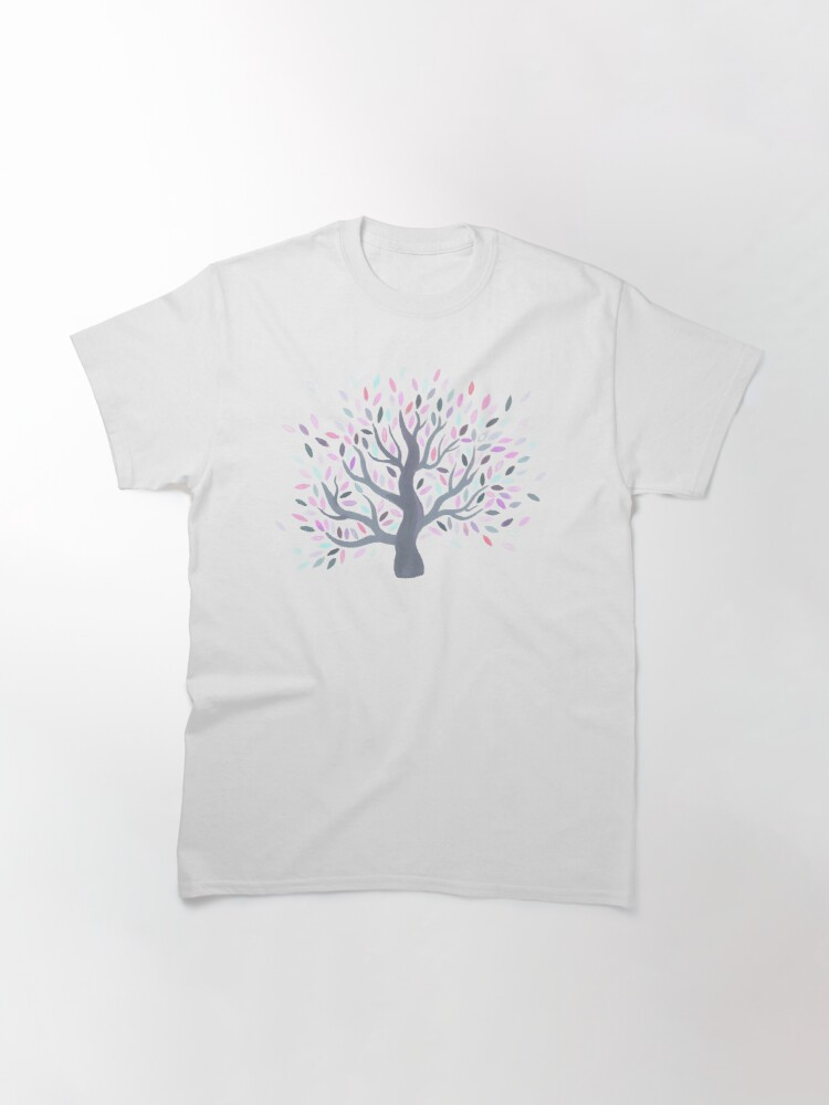 Alternate view of Multicolored tree of spring Classic T-Shirt