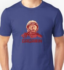 Yuri Gagarin Russia CCCP Space Astronaut Unisex T-Shirt