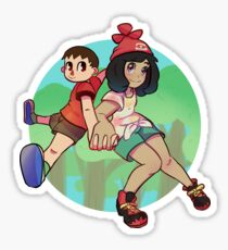 Pokemon Crossing Sticker