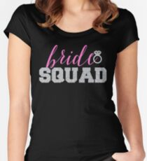 Bride Squad | Team Bride Bachelorette Party Women's Fitted Scoop T-Shirt