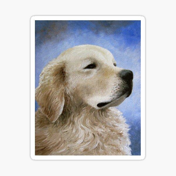 Dog 98 Golden Retriever Sticker
