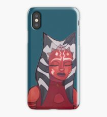 ahsoka tano artwork (version 2) iPhone Case/Skin