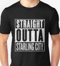 Straight Outta Starling City Slim Fit T-Shirt